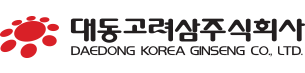 Logo - Daedong Korea Ginseng Co.,LTD