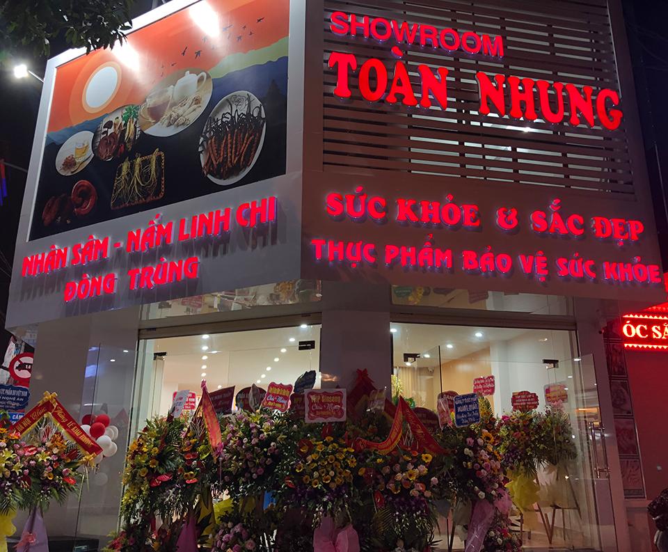 Showroom Toàn Nhung